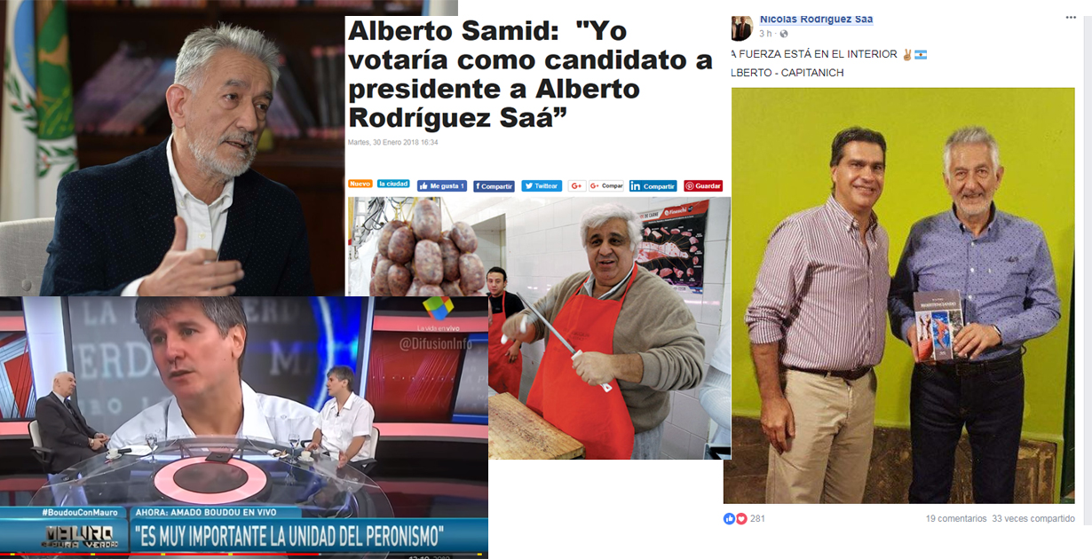 Alberto Rodríguez Saá, para muchos la representación del peronismo unido